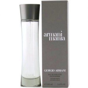 Armani Mania EDT 100ml Spray (Mens)-0