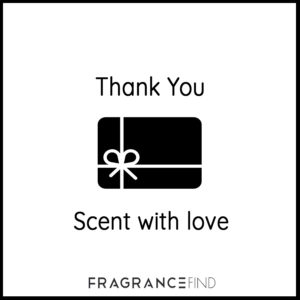 Fragrancefind | Gift Voucher Thank You