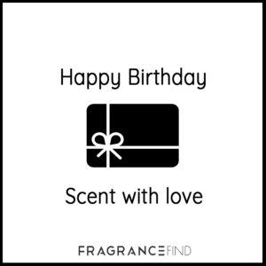 Fragrancefind | Gift Voucher Happy Birthday