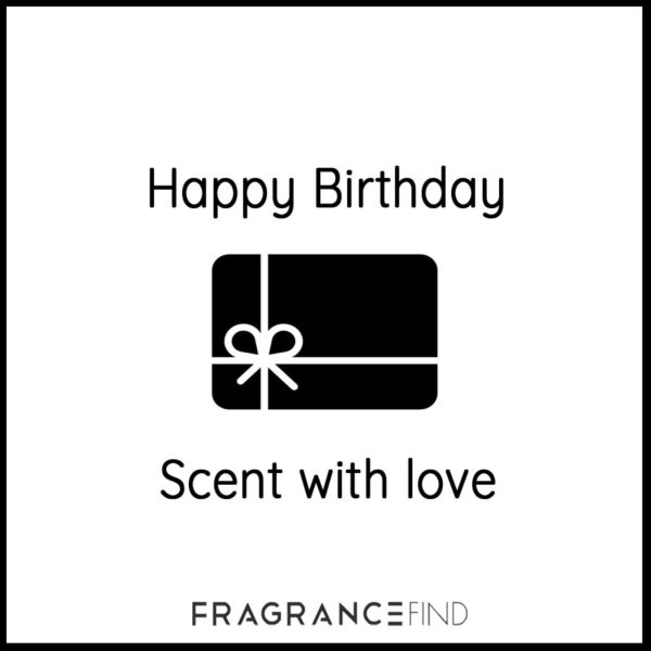 Fragrancefind | Gift Voucher Happy Birthday